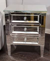 Mirrored Glass Nightstand How To Make Mirrored Glass Nightstand New Decoration Pics With