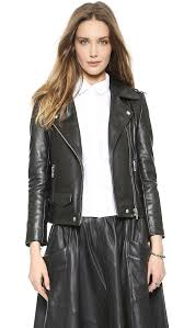 oak rider leather jacket shopbop
