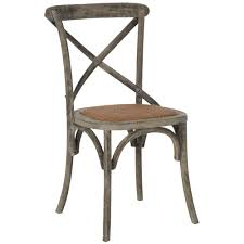 Safavieh Dining Chairs Safavieh Franklin X Back Distressed Colonial Grey Oak Chairs Set