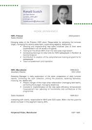 Sample Resume In English by Sample Cv Resume Gallery Creawizard Com
