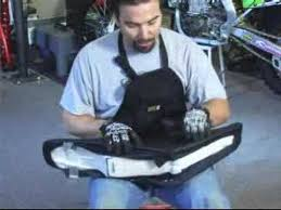 Bike Seat Upholstery How To Change A Dirt Bike Seat Cover Youtube