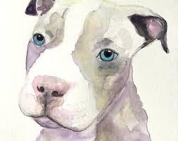 art glass dog ring holder images Custom dog painting etsy jpg