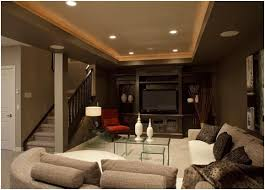 like the open wall rail concept cozy basement idea for the home