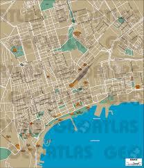 New Orleans Street Map Pdf by Geoatlas City Maps Baku Map City Illustrator Fully