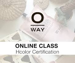 online class simply organic beauty oway hcolor certification online class