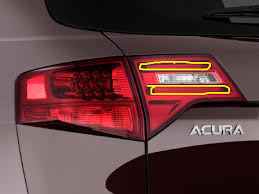 acura mdx tpms light led strips in hatch tail light assembly acura mdx forum acura