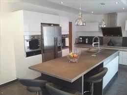 en cuisine avec modele de cuisine avec ilot central frais une cuisine design