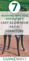 Aluminum Patio Furniture Set - why you should buy cast aluminum patio furniture