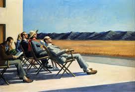 in the sun 1963 by edward hopper