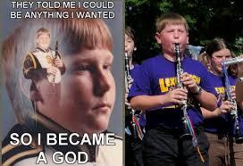 Band Kid Meme - image 128500 ptsd clarinet boy know your meme