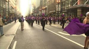 chicago thanksgiving parade marches state