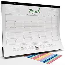 desk pad calendar protector amazon com goals gratitude wall desk pad calendar 2018 with