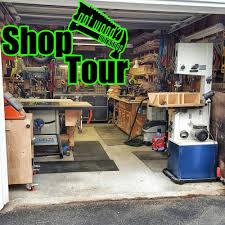 One Car Garage Workshop Got Wood Workshop Shop Tour Single Car Garage 1 Of 2 2016