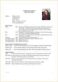 curriculum vitae for graduate template academic cv sle graduate student business proposal templated