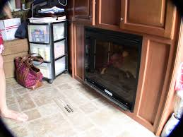 replacing the rv fireplace blower and heater element easy