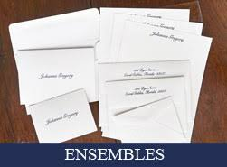 personalized stationery set quality personalized stationery sets from american stationery