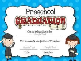 preschool certificates certificates editable for preschool pre kindergarten and