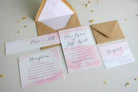 printable watercolor wedding invitation suite shabby chic