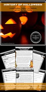 What Is The Origin Of Halloween History Of Halloween Leveled Readings And Differentiated Common