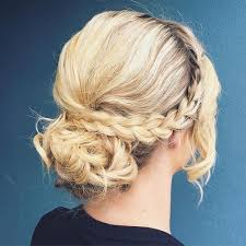 hairstyles for wedding guests crown bun hairstyles for wedding guests