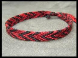red friendship bracelet images Friendship bracelet tutorial beginner the chevron double jpg