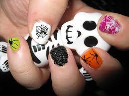 halloween nail art nail art