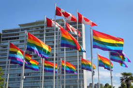Usa Rainbow Flag Bisexual And Transgender Rights In Canada The