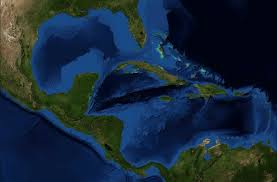 Caribbean Ocean Map by American Mediterranean Sea Wikipedia
