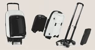 suitcases bugaboo boxer modular suitcases makes travel easier technabob