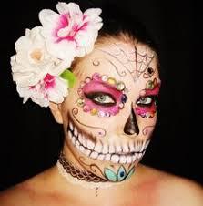 Sugar Skull Halloween Costumes Dead Sugar Skull Halloween Costume Idea Cool