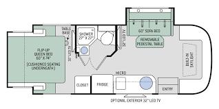 floor plans compass ruv 24tx