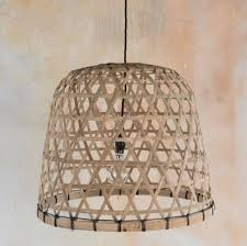 Ceiling Lamp Shades Extra Large Bamboo Handwoven Ceiling Lampshade By The Comfi