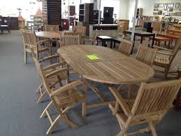 Teak Outdoor Dining Table And Chairs Grade A Teak Furnture Has Arrived Skips Outdoor Accents