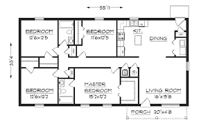 housing floor plans free simple one floor house plans plan 1624 floor plan house plans