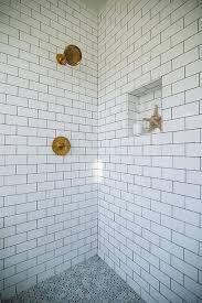 gray moroccan shower floor tiles contemporary bathroom