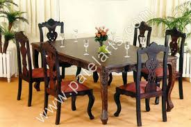 Wooden Dining Set Wooden Dining Table Wooden Dining Sets - Teak dining table and chairs india