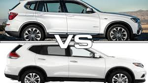 nissan trail 2016 2016 bmw x3 vs 2016 nissan x trail youtube