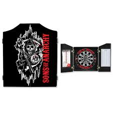 black dart board cabinet sons of anarchy dart board cabinet black dart board cabinet
