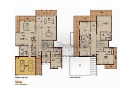 floor plans arabian ranches dubai land by emaar