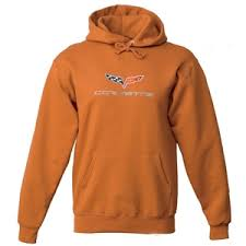 corvette hoodie corvette sweatshirt hoodie embroidered c6 orange free shipping