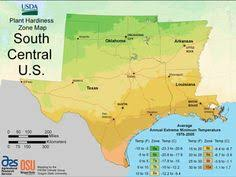 Gardening Zones Texas - arkansas climate zones for planting flowers trees vegetables and