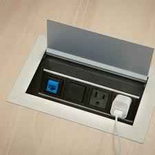tabletop integrated power u0026 data solutions coalesse