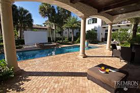 Paver Patio Cost Per Square Foot by Stone Texture Cement Pavers Tremron Pavers Cost To Install