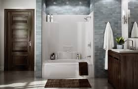bathtub shower unit appealing two piece shower tub unit gallery best inspiration