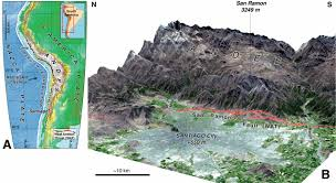 probing large intraplate earthquakes at the west flank of the