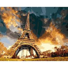 Home Of The Eifell Tower Online Buy Wholesale Eiffel Tower Painting From China Eiffel Tower