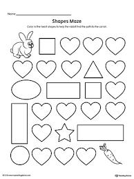 diamond shape maze printable worksheet myteachingstation com
