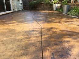 Concrete Patio Resurfacing Products by Concrete Stain And Sealer Patio Makeover Cheng Concrete Exchange