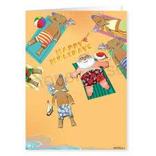 santa writing paper beach sunbathing santa and crew holiday writing paper design beach sunbathing santa and crew
