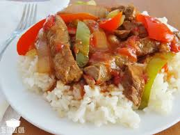 crock pot pepper steak the country cook